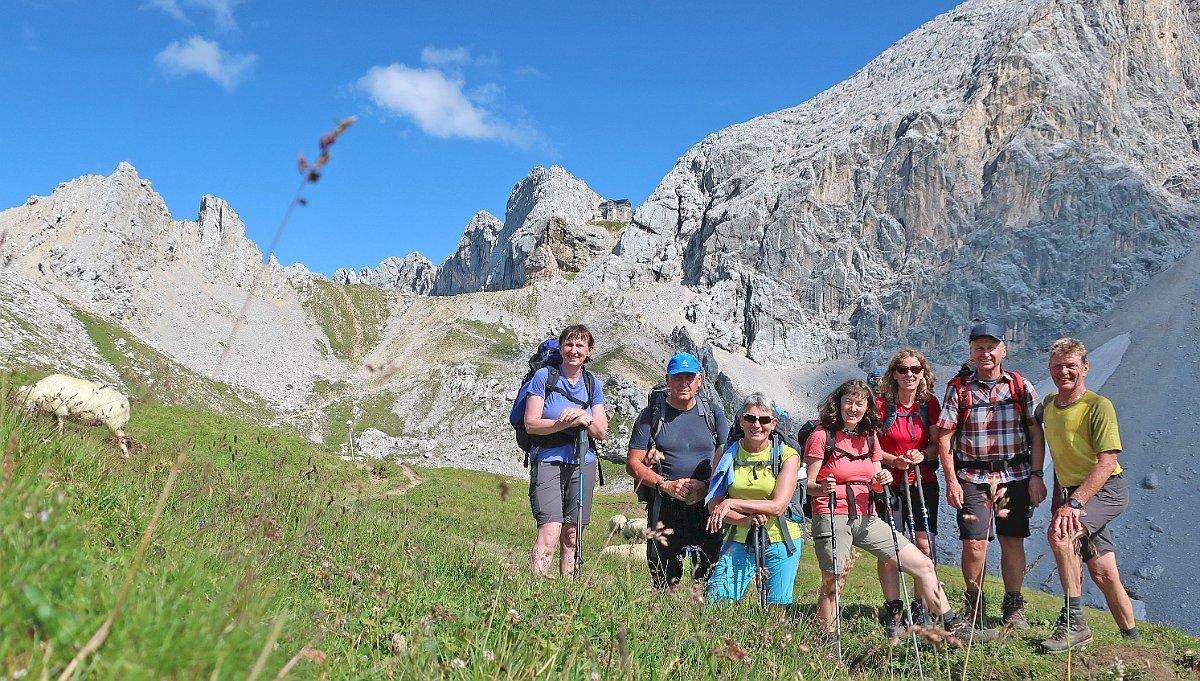 Alpenverein Freyung unterwegs bei König Ludwig II
