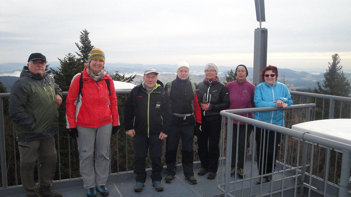 Wanderung auf die höchste Erhebung des Passauer Landes