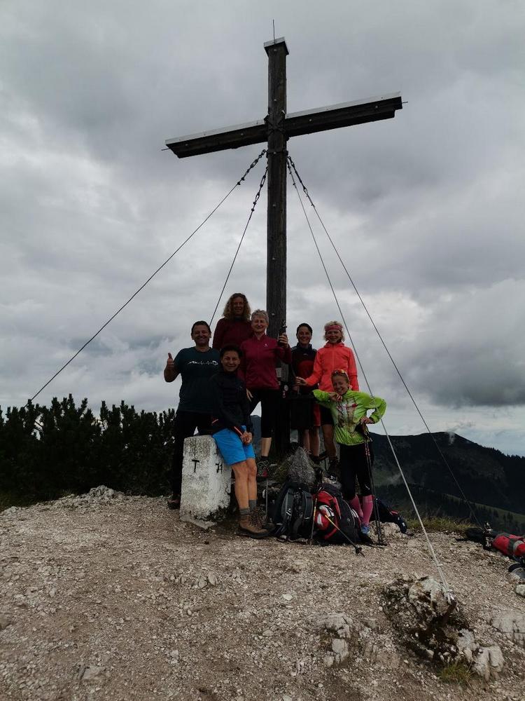 DAV-Ortsgruppe Freyung bewandert Trainsjoch